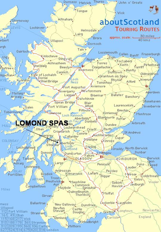 ullapool scotland map